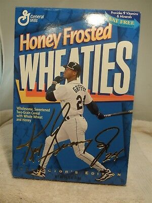 Ken Griffey Jr. - Honey Frosted Wheaties Collector's Edition Cereal Box Full