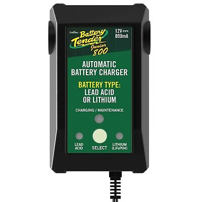 New Battery Tender Junior 800 Charger Tender 12 Volt Lithium Ion Agm Acid