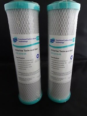 Water Filter Matrikx  2.5 x 10 inch 5 micron twin pack