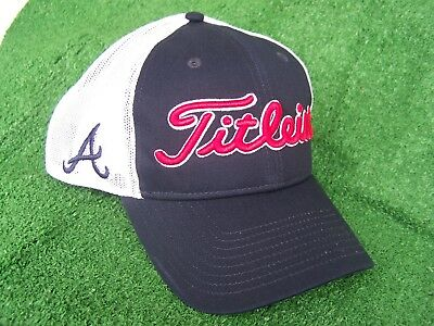 db748877 inexpensive atlanta braves titleist golf hat 9eca9 49304