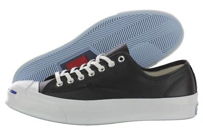2ab7fc0d098fcb Converse Jack Purcell Signature OX Black White Leather Sneaker 149910C