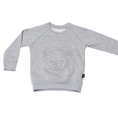 Huxbaby Grey Unisex Sweater - Hux Bear - Brand New With Tag - Sz 5T