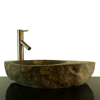 Big River Stone Vessel Sink with Soap Dish Bathroom Counter Top RSTDD-03