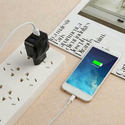 2.1A Dual Ports USB Wall Charger Fast Charging Adapter US Plug for Phone Tablet