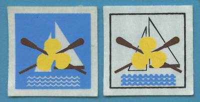 PORTUGAL (CNE scout association) lot of SEA SCOUT badge / patch. WORTH A LOOK!