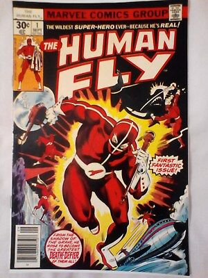 Human Fly 1 (1977) Origin told. Spiderman appearance