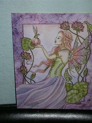 Amy Brown - Frog Prince - SIGNED - OUT OF PRINT