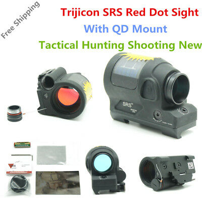 Tactical Optics 1X38 SRS Solar Power Red Dot Laser Reflex Sight Scope Shotgun
