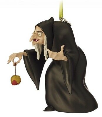 Disney Sketchbook Ornament Old Hag Snow White And The Seven Dwarfs New