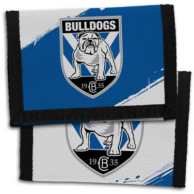 Canterbury Bulldogs NRL Wallet Sports Christmas Boys Girls Birthday Fathers Gift