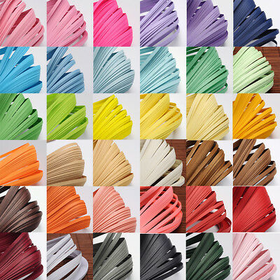 1 Bag 530x5mm Quilling Paper Strips about 120strips/bag For DIY Paper Crafts