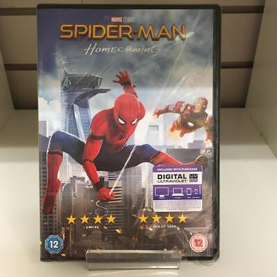 Spider-Man Homecoming DVD - New and Sealed Fast and Free Delivery