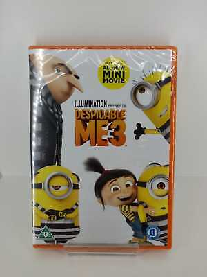 Despicable Me 3 DVD - New and Sealed Fast and Free Delivery
