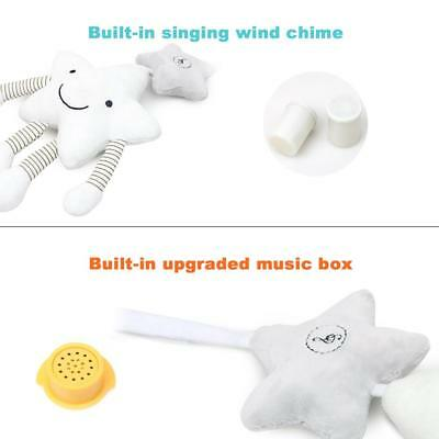 White Star Music Wind Chime Hanging Singing Stroller Bed Hanging Bed Bell Toy