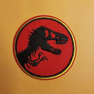 Jurassic World Park Uniform/Costume Patch 2 3/4 inches wide