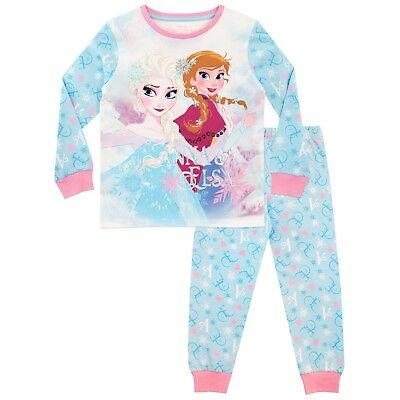 Girls Frozen Pyjamas | Disney Frozen PJs | Kids Disney Princess Pyjamas | NEW