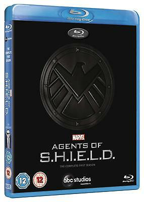 Marvel's Agents of SHIELD - Season 1 One [Blu-ray Region Free, S.H.I.E.L.D.] NEW