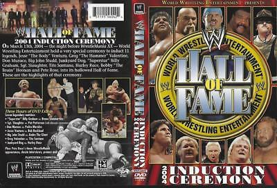 Dvd:  2-Disc  Wwe Hall Of Fame 2004 Induction Ceremony