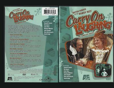 Dvd:2-Disc 13 Episode A&E Carry On Laughing.....kenneth Conner-Sid Jones