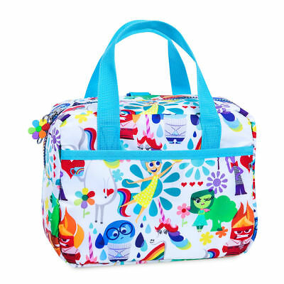 Disney Store Inside Out Lunch Box Tote Joy Sadness Anger Disgust Fear Unicorn