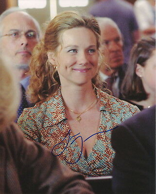 Confident Laura Linney Signed Photo W/ Hologram Coa Movies