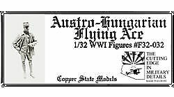 Copperstatemodels F32-032 - 1:32 Wwi Austro-Hungarian Flying Ace