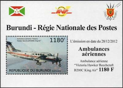 Hawker Beechcraft B-200 King Air Ambulance Victoria (AAV) Aircraft Stamp Sheet 2