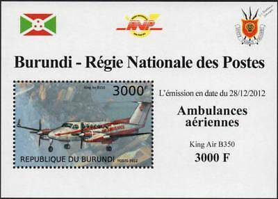 Hawker Beechcraft B350 King Air Ambulance/Flying Doctors Aircraft Stamp Sheet 2