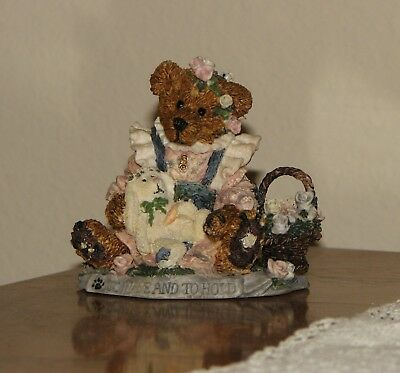 """Boyds Bears Bearstone: Bailey & Wixie """"To Have & To Hold"""""""