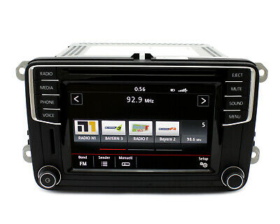 Radio Composition Media , pq # VW T6,Beetle, Eos ,Scirocco, Caddy ,Sharan 7n, Cc