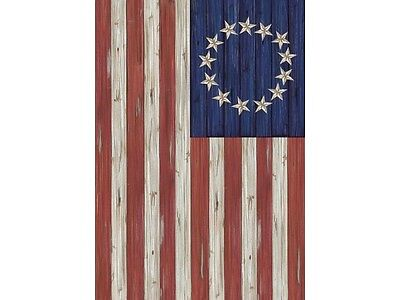 Country new BETSY ROSS FLAG outdoor garden flag