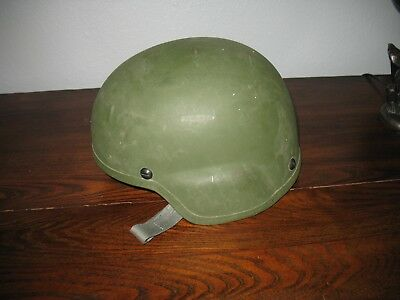 MSA GALLET  HELMET SIZE LARGE #449 411, TC 2000, Green