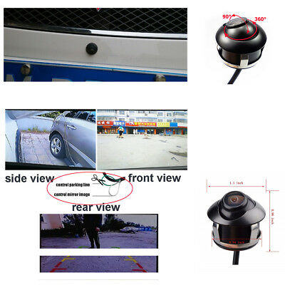 170° Viewing Angle CCD 360 Degree Car Front Side Rear View Reverse Backup Camera