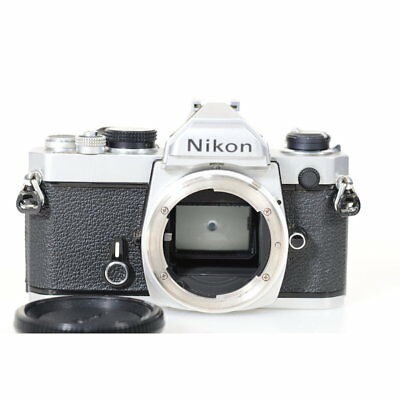 Nikon Fm 35mm Reflex Camera only Casing in Chrome