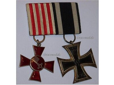 Germany WW1 Medals Iron Cross Hanseatic Bremen 1914 1918 EK2 Prussia German WWI