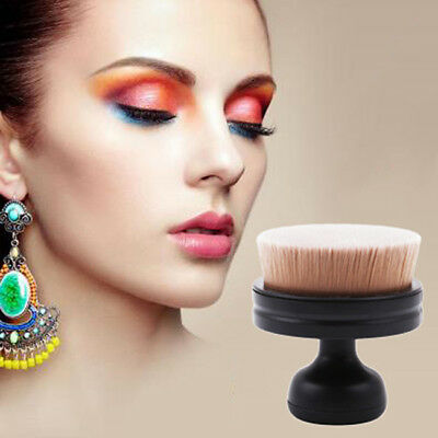 Professional Oval Makeup Brush Foundation Blend Beauty Cosmetic Brushes Tool LG