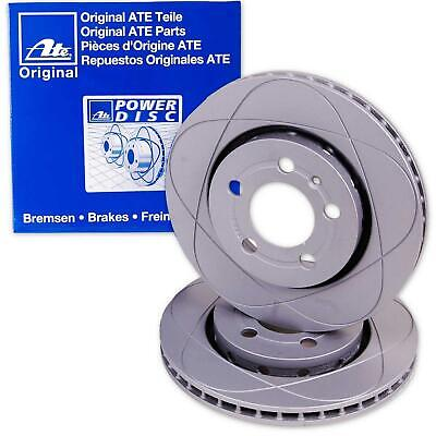 2x ATE POWER DISC BREMSSCHEIBE VORNE AUDI A1 A3 VW BORA GOLF IV NEW BEETLE POLO