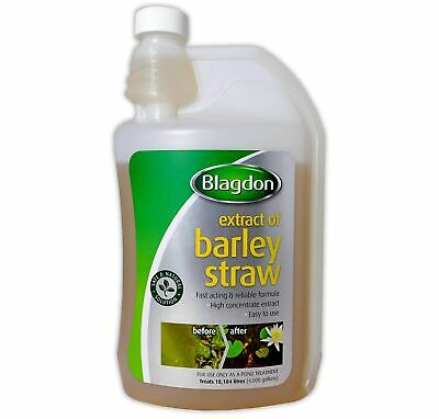 Blagdon Extract Barley Straw Pond Water Treatment Green Algae Interpet Fish Koi