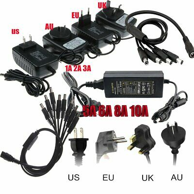 DC Power Supply 1 to N Splitter Cable 12V 2A 3A 5A 8A 10A IP Camera LED Light