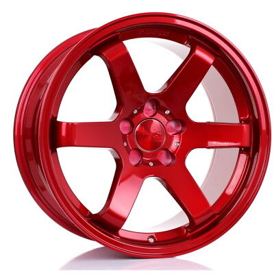 18 inch BOLA B1 5x112 ET30 TO 45 9.5J RED alloy wheels  Audi A4 Audi A4 Audi A4