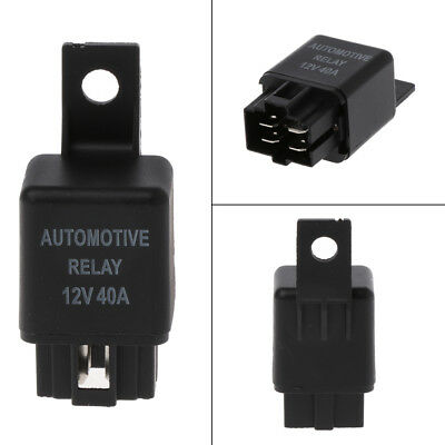 12V 40A Durable 4 Pin NVF-9 Car Automotive Relay SPST Van Boat Bike Alarm Truck