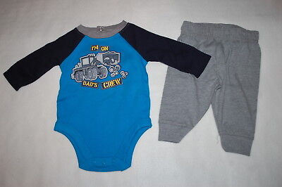 bf4357e45c58 BABY BOYS OUTFIT NAVY BLUE & YELLOW L/S HENLEY SHIRT Pocket PANTS ...