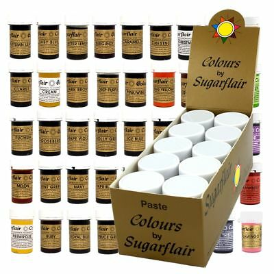 Sugarflair Concentrated Food Colouring Paste Spectral Colour - Bulk Packs of 10