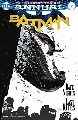 Batman Annual #2 Sold Out First Print Tom King Dc Comic Book New 1 2017