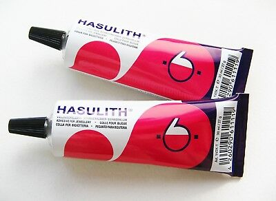Schmuckkleber Bastelkleber Hasulith 30ml Tube Jewellery Craft Glue