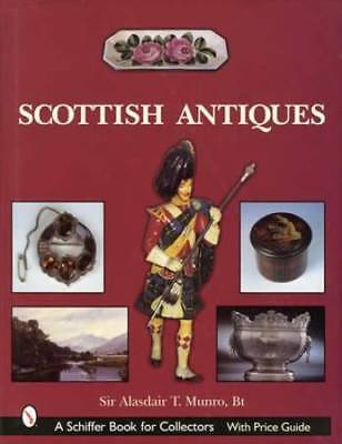 Scottish Antiques Collector Reference incl Tartan Ware, Jewelry, Sporran & More