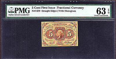 B94 BEP Souvenir Card 2nd Issue 5c Fractional Currency