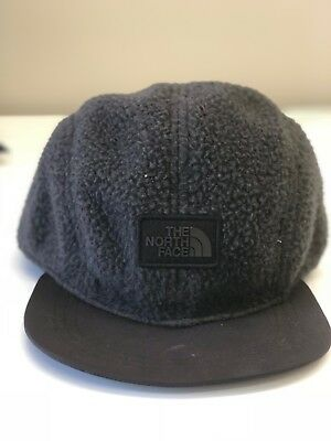 ae8084ba Nwt One Size The North Face Sherpa Crusher Adjustable Cap Hat Black 355E-Flc