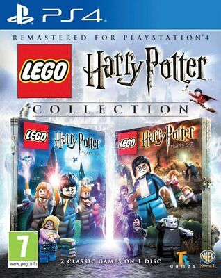 PS4 Game Lego Harry Potter Collection Remastered Edition Years 1-4 & 5-7 New