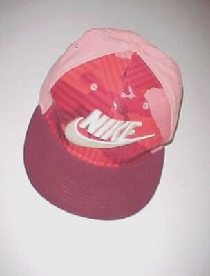 5416a2e4 Nike True Swoosh Adult Unisex Red Pink Maroon Camouflage Baseball Cap One  Size